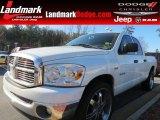 2008 Bright White Dodge Ram 1500 SLT Quad Cab #77924334