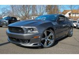 2011 Sterling Gray Metallic Ford Mustang SMS 302 Supercharged Coupe #77924619