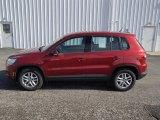 2011 Wild Cherry Metallic Volkswagen Tiguan S 4Motion #77961922