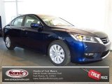 2013 Obsidian Blue Pearl Honda Accord EX Sedan #77961058