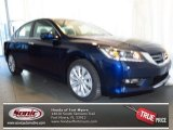 2013 Obsidian Blue Pearl Honda Accord EX Sedan #77961057