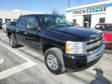 2009 Black Chevrolet Silverado 1500 LS Crew Cab 4x4 #77961916