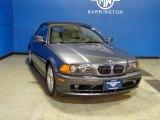 2002 Steel Grey Metallic BMW 3 Series 325i Convertible #77961046