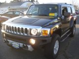 2009 Carbon Black Metallic Hummer H3  #77961278
