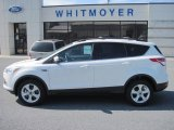 2013 Oxford White Ford Escape SE 1.6L EcoBoost 4WD #77961649