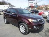2011 Dark Cherry Kia Sorento LX AWD #77961875