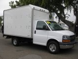 2006 Chevrolet Express Cutaway 3500 Commercial Moving Van Data, Info and Specs