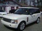 2005 Chawton White Land Rover Range Rover HSE #77961850