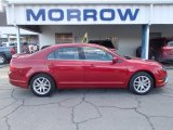 2011 Red Candy Metallic Ford Fusion SEL V6 AWD #77961237