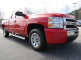 2011 Victory Red Chevrolet Silverado 1500 LS Extended Cab #77961500