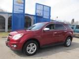 2010 Cardinal Red Metallic Chevrolet Equinox LTZ AWD #77961217