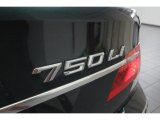 BMW 7 Series 2007 Badges and Logos