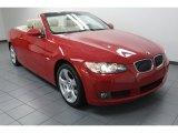 2008 Crimson Red BMW 3 Series 328i Convertible #77961620