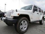 2010 Jeep Wrangler Unlimited Stone White