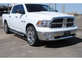 2010 Stone White Dodge Ram 1500 Lone Star Crew Cab #77961828