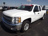 2012 Summit White Chevrolet Silverado 1500 LT Extended Cab #77961613