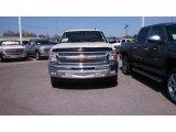 2013 White Diamond Tricoat Chevrolet Silverado 1500 LT Crew Cab #77961814