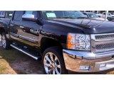 2013 Black Chevrolet Silverado 1500 LT Crew Cab #77961813