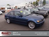 2004 Mystic Blue Metallic BMW 3 Series 325i Sedan #77961475