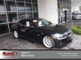 2010 Jet Black BMW 3 Series 335i Coupe #77961473