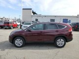 2013 Basque Red Pearl II Honda CR-V EX AWD #77961724