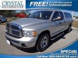 2005 Bright Silver Metallic Dodge Ram 1500 Laramie Quad Cab #77961707