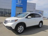 2013 White Diamond Pearl Honda CR-V EX-L AWD #77961691