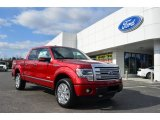 2013 Ruby Red Metallic Ford F150 Platinum SuperCrew 4x4 #78023185