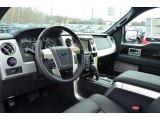 2013 Ford F150 Platinum SuperCrew 4x4 Platinum Unique Black Leather Interior