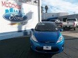 2013 Blue Candy Ford Fiesta SE Hatchback #78023066