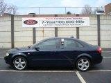 2004 Moro Blue Pearl Effect Audi A4 1.8T quattro Sedan #7802109