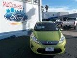2013 Lime Squeeze Ford Fiesta SE Sedan #78023064