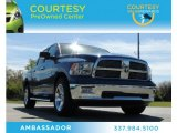 2011 Deep Water Blue Pearl Dodge Ram 1500 Big Horn Crew Cab #78023482