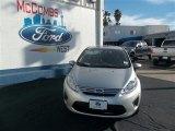 2013 Ingot Silver Ford Fiesta SE Sedan #78023062