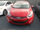 2013 Volcanic Red Hyundai Elantra Coupe GS #78023054