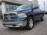 2011 Deep Water Blue Pearl Dodge Ram 1500 Big Horn Quad Cab #78023045