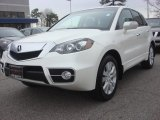 2010 White Diamond Pearl Acura RDX SH-AWD Technology #78023030