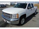 2013 Summit White Chevrolet Silverado 1500 LT Crew Cab #78023580
