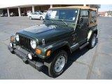 1998 Jeep Wrangler Moss Green Pearl