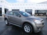 2010 Mocha Steel Metallic Chevrolet Equinox LS #78023248