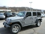2013 Billet Silver Metallic Jeep Wrangler Unlimited Sport S 4x4 #78023359