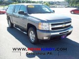 2009 Graystone Metallic Chevrolet Silverado 1500 LT Crew Cab 4x4 #78023423
