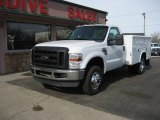2008 Ford F350 Super Duty XL Regular Cab 4x4 Utility Truck Data, Info and Specs