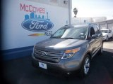 2013 Sterling Gray Metallic Ford Explorer Limited #78023094