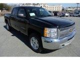 2013 Black Chevrolet Silverado 1500 LT Crew Cab 4x4 #78076639