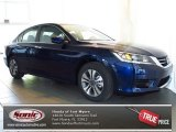 2013 Obsidian Blue Pearl Honda Accord LX Sedan #78076127