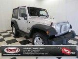 2011 Bright Silver Metallic Jeep Wrangler Sport S 4x4 #78076527