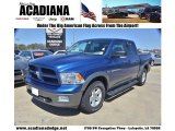 2011 Deep Water Blue Pearl Dodge Ram 1500 SLT Outdoorsman Crew Cab 4x4 #78076324