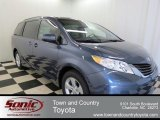 2013 Shoreline Blue Pearl Toyota Sienna LE #78076520