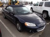2002 Deep Sapphire Blue Pearl Chrysler Sebring Limited Convertible #78076795